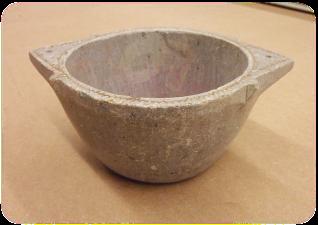 Bol en pierre, diam 12-13cm /destock -30%