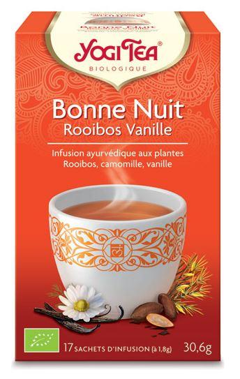 BIO - Bonne nuit rooibos vanille - 17x2g - Yogi Tea