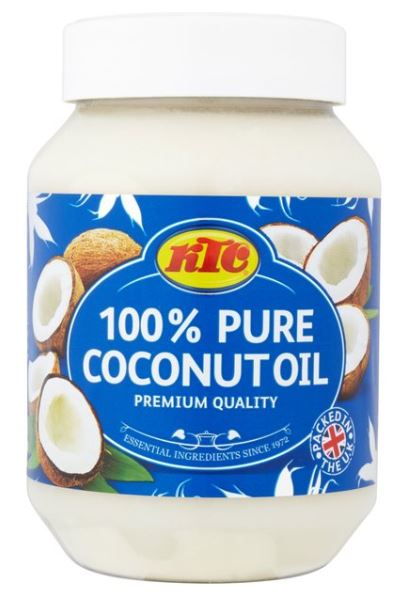 100% pure coconut oil - KTC - 500 ml