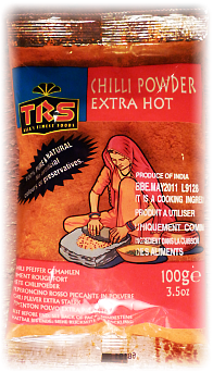 Chilli powder extra hot - piment rouge fort - TRS - 100 g