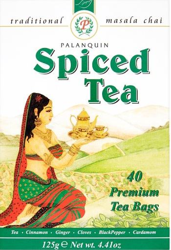 Palanquin ginger herbal tea - 40 sachets - 80g