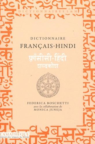 DICTIONNAIRE FRANCAIS-HINDI [Federica Boschetti/Asiathèque]