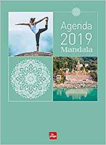 AGENDA 2019 : MANDALA YOGA [16X22/La Plage]