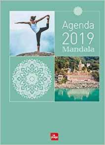 AGENDA 2019 : MANDALA YOGA [10,5x14,5/La Plage]