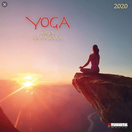 CALENDRIER 2020 [Yoga Surya Namaskara/Tushita]