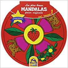 MANDALAS. Les plus beaux mandalas pour enfants - Vol.01/rouge [Macro]