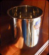 Grand pot à lait en inox - diamètre 12 cm