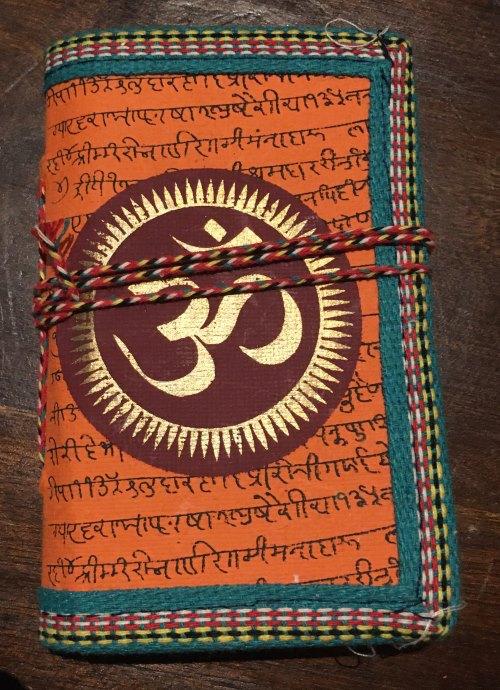 Carnet illustré+inscriptions hindi [12.5 x 8.5]