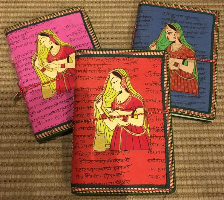 Carnet illustré+inscriptions hindi [8 x 12.5]
