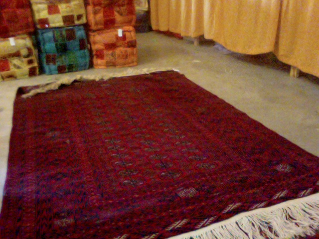 Tapis Yack et Mouton Afghanistan