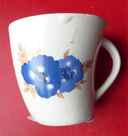 Tasses céramique avec motif