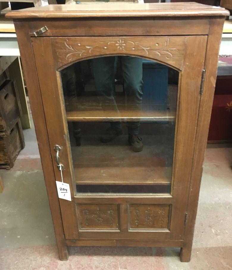 Meuble vitrine H106x L65x P48